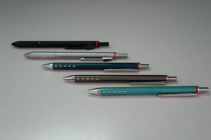 Rotring - 3 ballpoint pens and 3 mechanical pencils - Group of 5