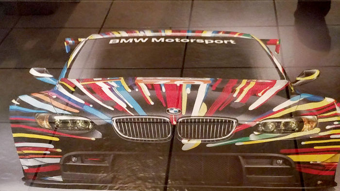 Jeff Koons - Art Car Design - BMW M3 GT2
