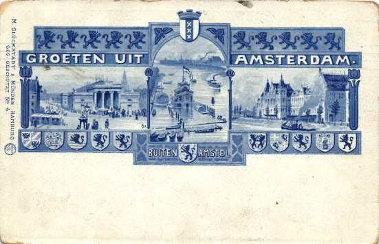 Amsterdam, 60x (old to very old postcards)
