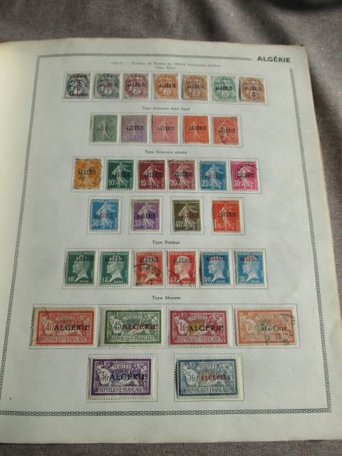 Algerije - Almost complete stamp collection