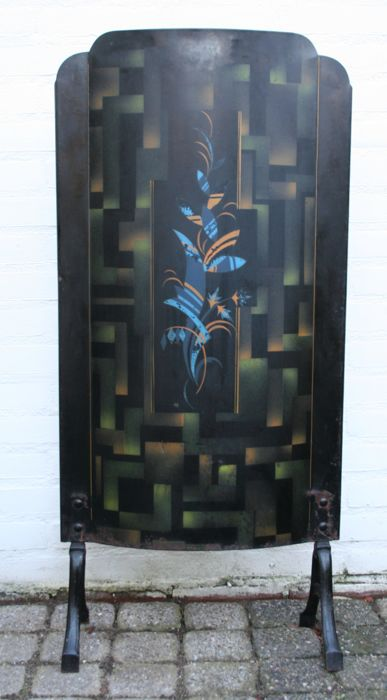 Art Deco - Fire screen