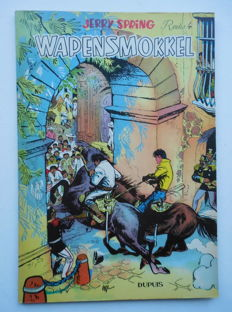 Jerry Spring 4 - Wapensmokkel - Softcover - First edition - (1957)