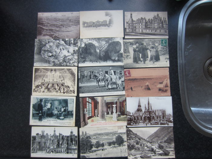 Approx.550 postcards France + other countries