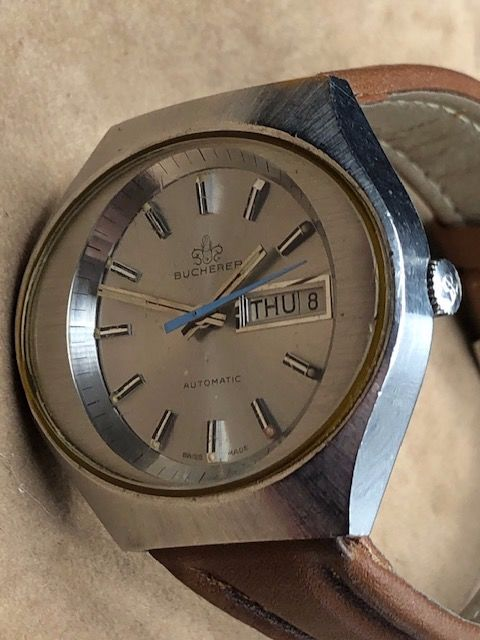 "Bucherer - Day/Date - S77 - ""NO RESERVE PRICE"" - Men - 1980-1989"