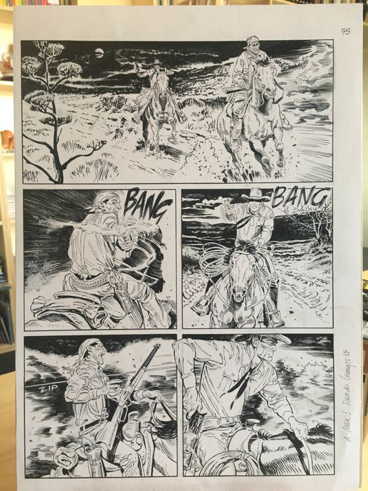 Tex #654 - Leomacs - original page - Loose page - First edition - (2015)