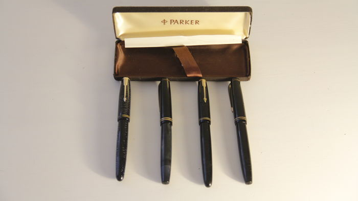 Parker - Fountain Pen - Collection of 4
