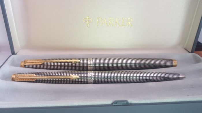 Parker - fountain pen - complete collection of 1