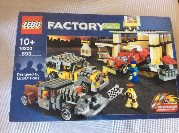 Lego Factory 10200 Car Custom Car Garage Catawiki