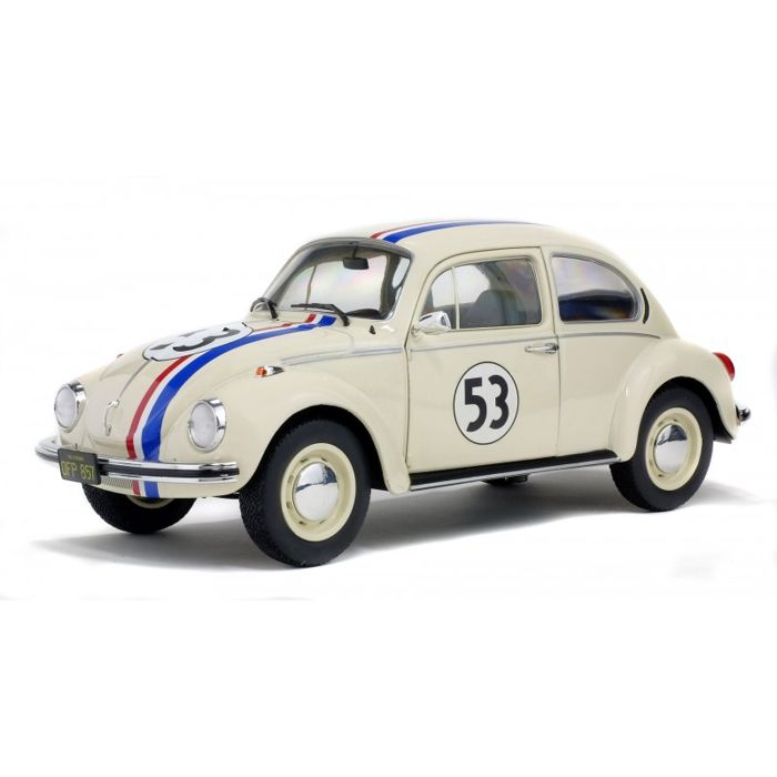 Solido - 1:18 - VW Beetle 1303 #53 ´Herbie´ - The Love Bug