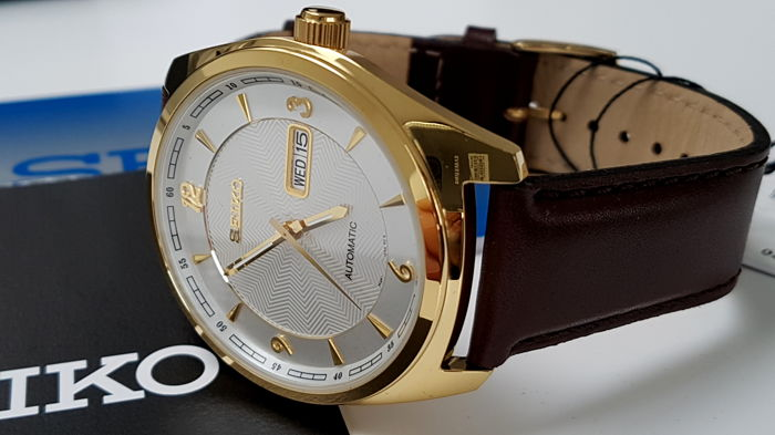Seiko - Classic Automatic  Gold Plated unworn - Men - 2018