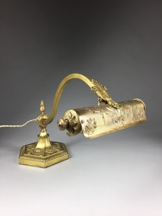 Desk lamp - Brass - Early 20th century