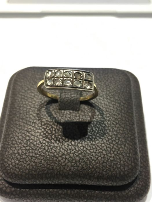 Ring - Gold, Silver - Natural (untreated) - Diamond