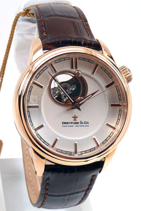 Dreyfuss & Co. -Stainless Steel   - DREYFUSS & CO SPECIAL EDITION HAND MADE SKELETON  - Heren - 2011-heden