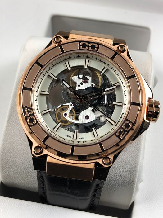 Guess - Skeleton Limited Edition Manual  - X55001G1S - Hombre - 2011 - actualidad