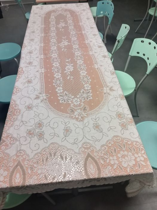Hand crafted - Tablecloth - Unique - Fabric