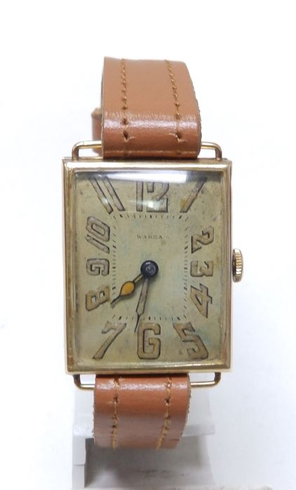 Warza - Mecánico, Suiza, 1910. Oro 14k. - nº 169220 - Homme - 1901-1949