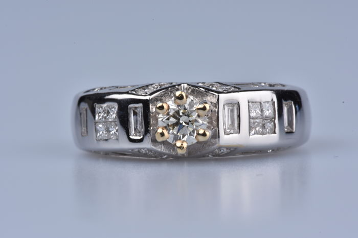 White gold - Ring Diamond - Diamond