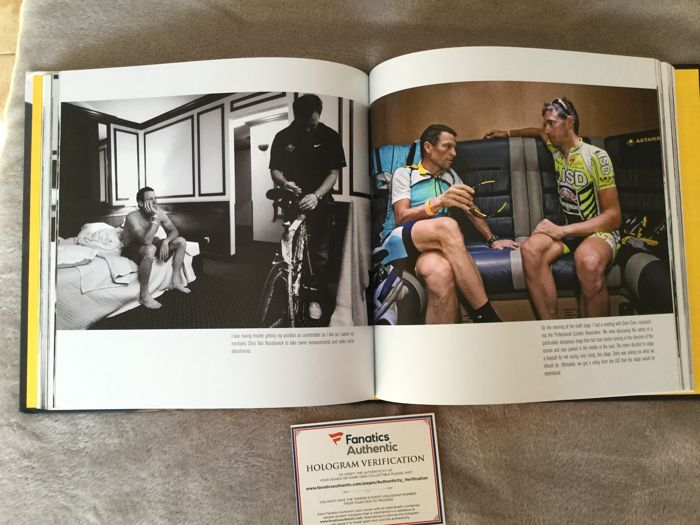 be63b6b0f Cycling - Lance Amstrong signed book with Fanatics COA!! - 2008 - Book
