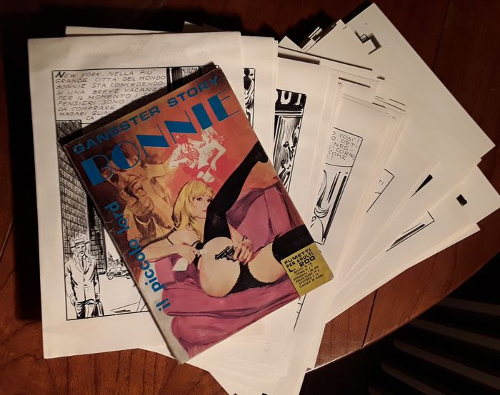 Bonnie #57 - 120x original pages - complete story - Loose page - First edition - (1971)