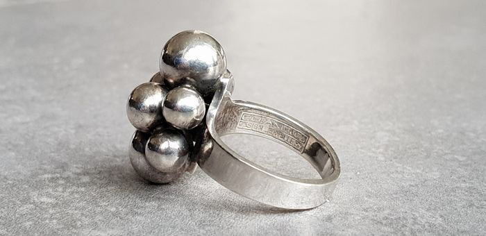 Used, E. Granit & Co - Ring - Silver for sale  London