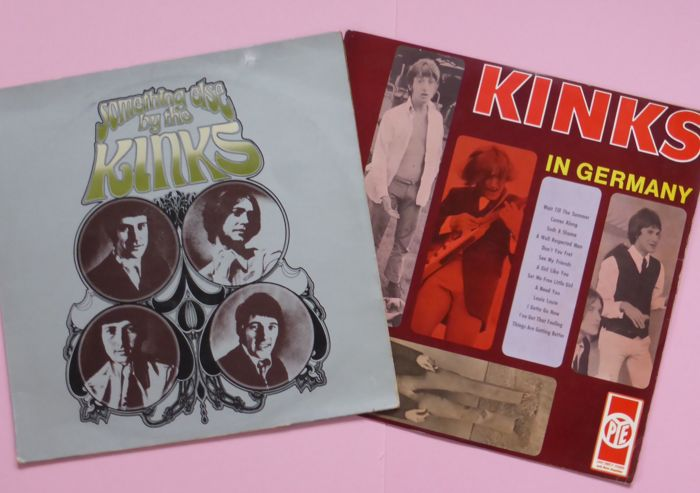 two rare albums by the kinks kinks in germany vogue ldvs 17077p