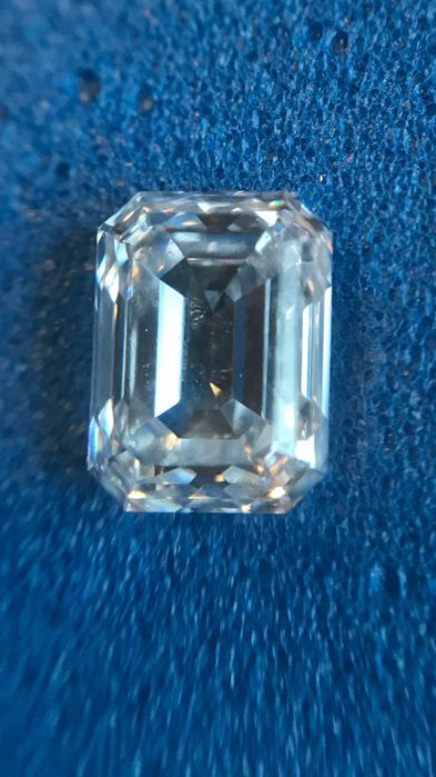 -3 Diamond - 0.5 ct - Emerald - D (colourless) - IF (flawless)