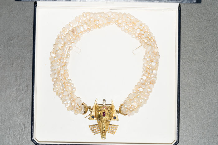 18 kt. Gold - Necklace with pendant