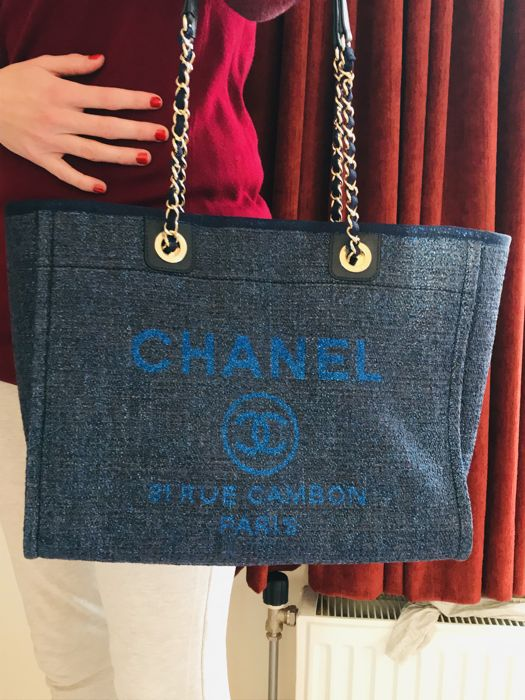 f6f383b951c6 Chanel - Deauville limited edition 2018 Tote bag - Catawiki