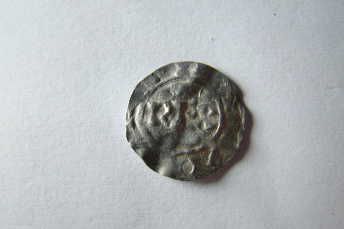 Netherlands - Deventer - Henry II Denier 1002-1014 - 银