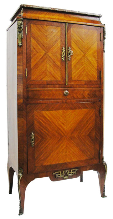 Used, Cabinet, wardrobe, antique furniture (1) - Bronze, Rosewood, Wood - Second half 19th century for sale