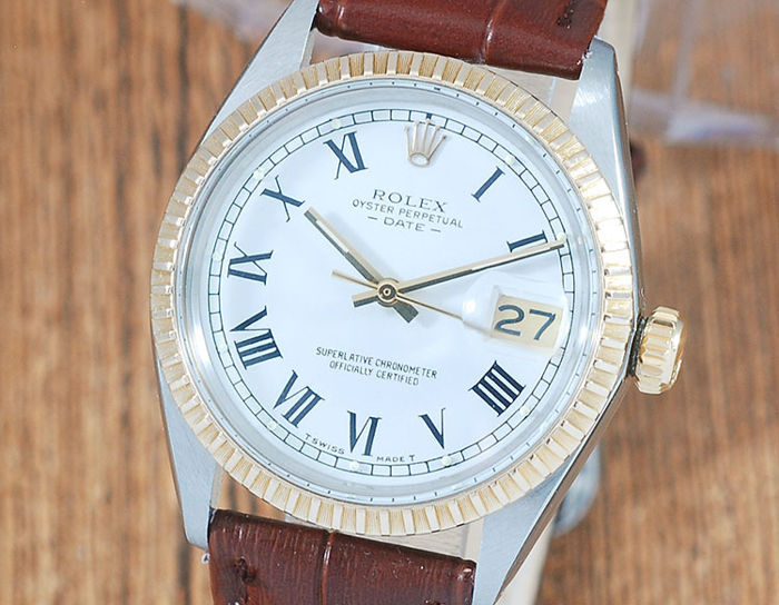 Rolex - Oyster Perpetual Date - 1505 - Hombre - 1970-1979