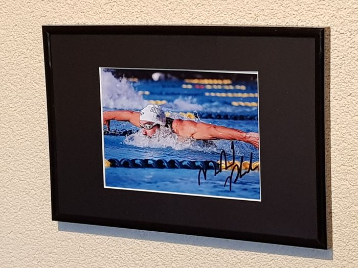USA - Olympic Games - Michael Phelps - Olympic legend - Photograph