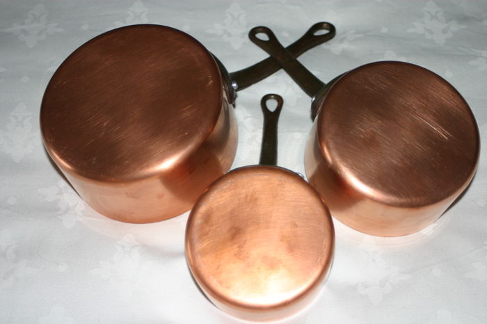 Pan (3) - Copper