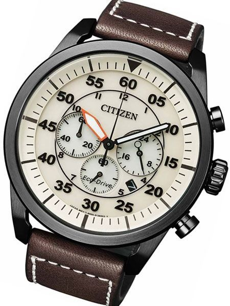Citizen - Crono Aviator Eco Drive - CA4215 - Men - 2019