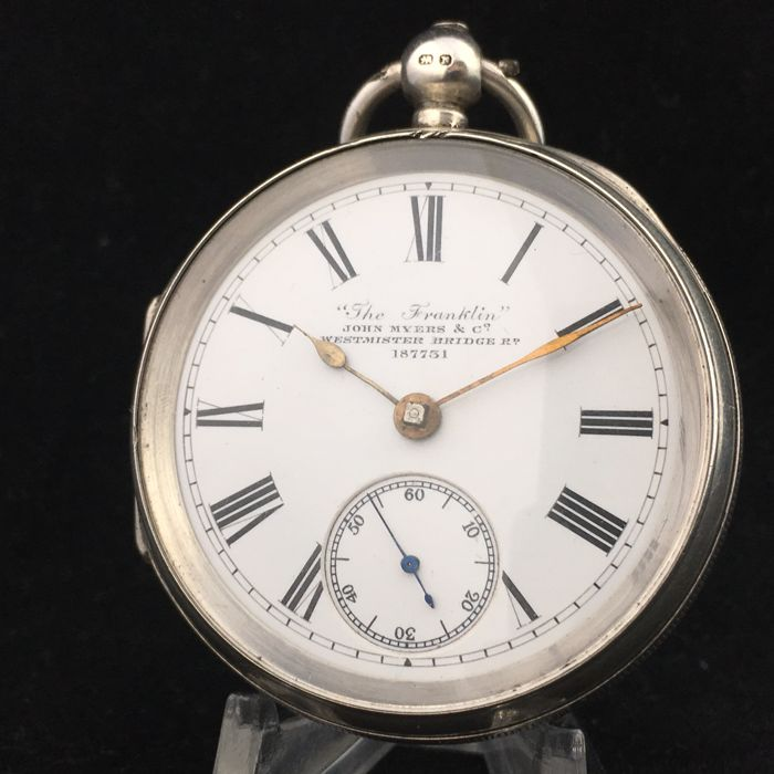 John Myers & Co - 'The Franklin' - Pocket watch - Men - 1896