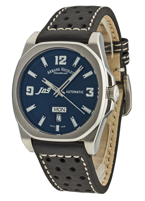 Armand Nicolet - J09 Day&Date Automatic - 9650A-BU-P660NR2 - Homme - 2011-aujourd'hui