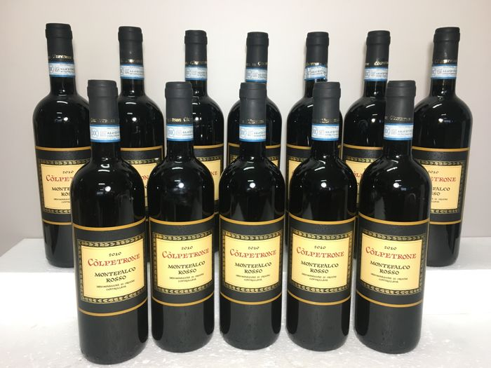 2010 Colpetrone Montefalco Rosso Doc - Ombrie - 12 Bouteilles (0,75 L)