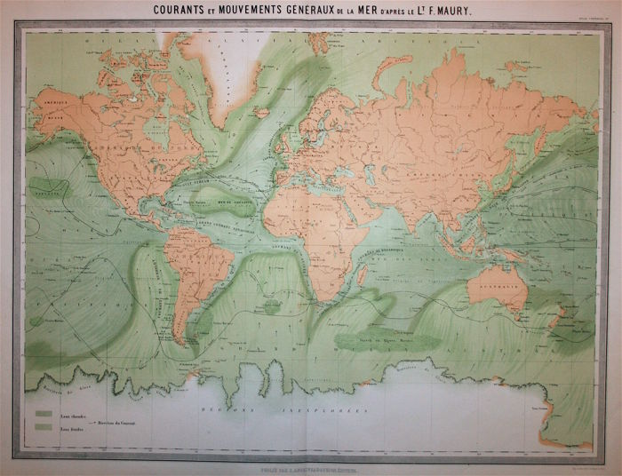 World Map With Currents.World Map Marine Currents Andriveau Goujon Courants Et