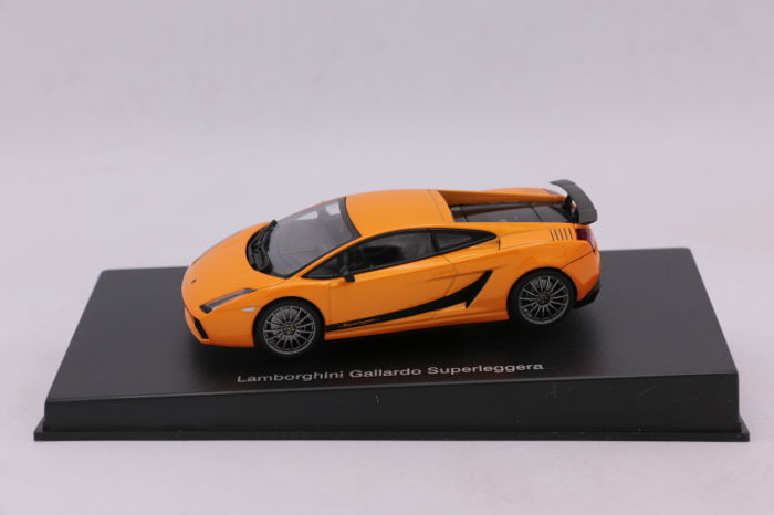 Autoart 1 43 Lamborghini Gallardo Superleggera Color Orange