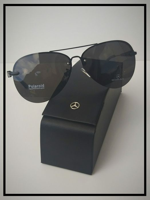 bd0de90f0a1 Mercedes Benz Black Aviator Sunglasses - Catawiki