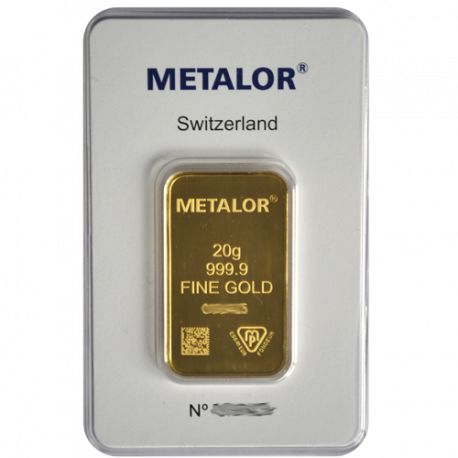 20 g Gold Metalor
