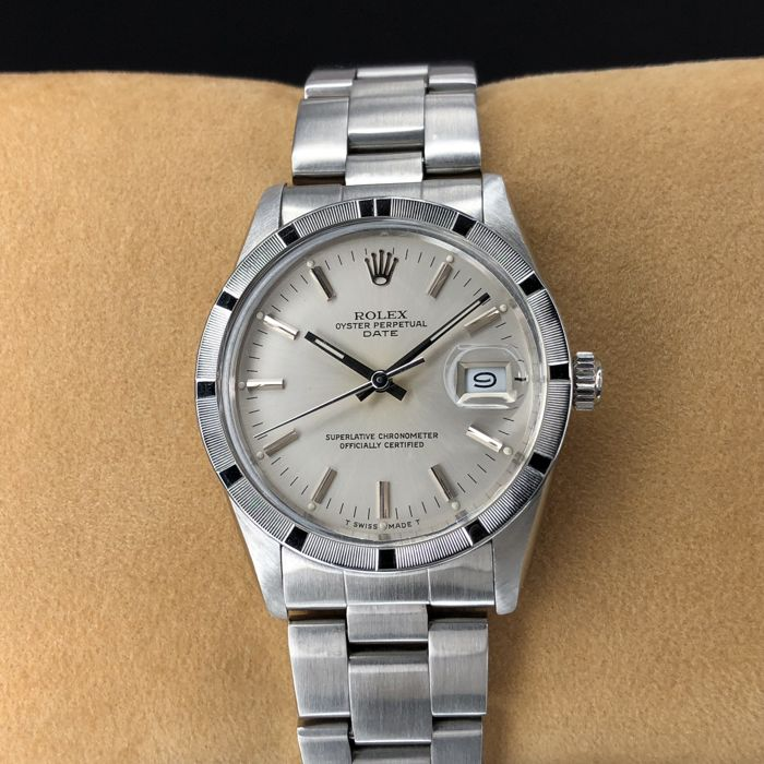 Rolex - Oyster Perpetual Date - 1500 - Unisex - 1980-1989