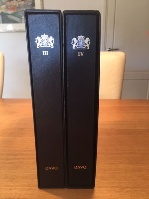 荷兰 1960/2001 - Collection in two DAVO LX albums with slipcases