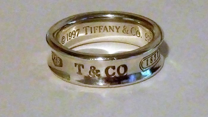 e0fceded6 Tiffany & Co Sterling Silver Ring 1837 Collection - 925 Silver - Ring ...