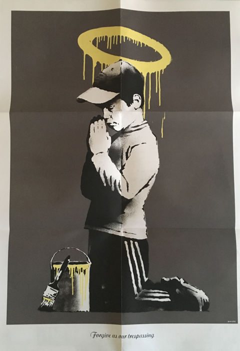 Banksy - Forgive us our trespassing, Don
