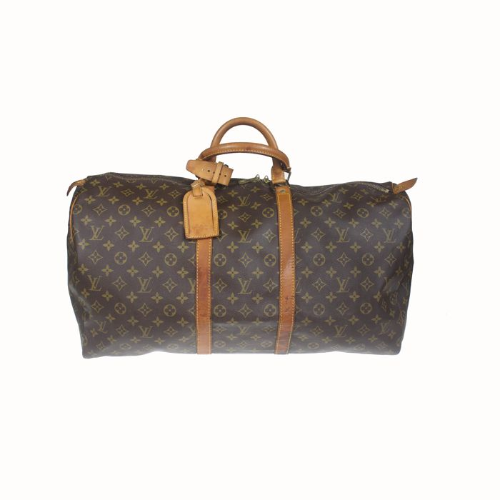 Louis Vuitton - Monogram Keepall 55 Utazótáska - Catawiki 7bfe43c6f4