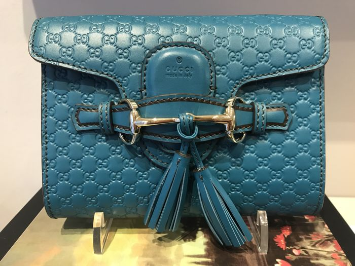 6fc6417face2 Gucci - Emily Guccissima Crossbody bag - Catawiki