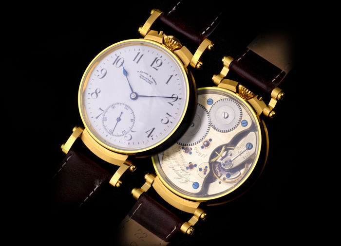 A. Lange & Söhne - marriage watch  - Hombre - 1850 - 1900