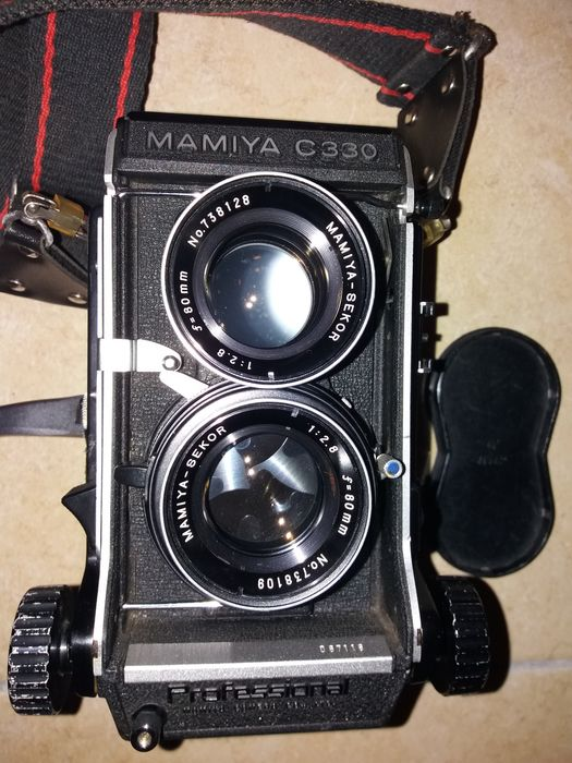 Twin lens reflex (TLR ) camera - Mamiya C330 Professional, Sekor S 80mm  F/2 8 BLUE DOT Lens - Catawiki