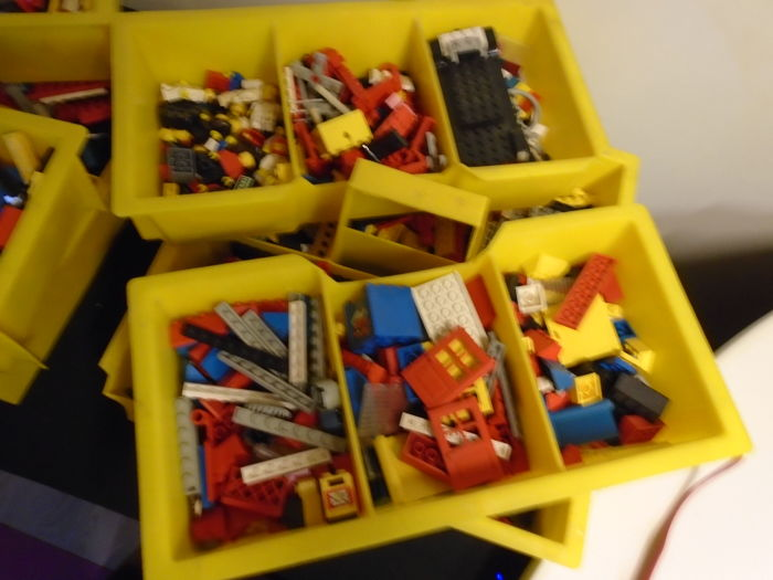 LEGO - geen - Assorted special old lego that are not made